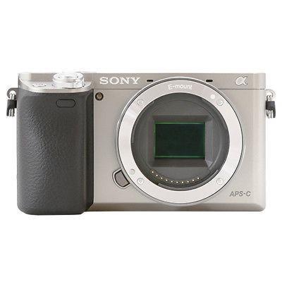 Cuerpo Plateado, Cámara Digital De Sony Alpha A6000