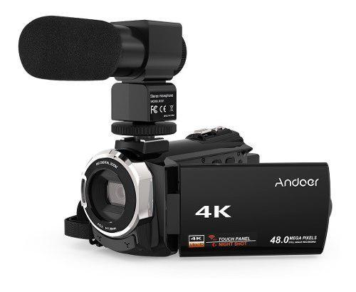 Digital Andoer 4k 1080p 48mp Wifi Negro 524km