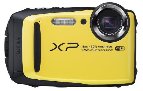 Fujifilm Finepix Xp90 Camara Digital Impermeable Amarillo