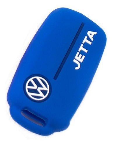 Funda Llave Silicón Volkswagen Logo Jetta Rojo Mk4 Mk6