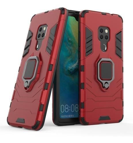 Funda Uso Rudo Anillo Huawei P30 Mate 20 Lite P20 Lite Y9 Y7