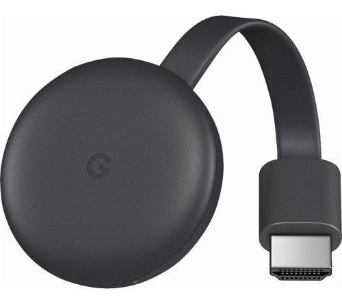 Google Chromecast 3 Ra Generacion Negro (ga00439-us)