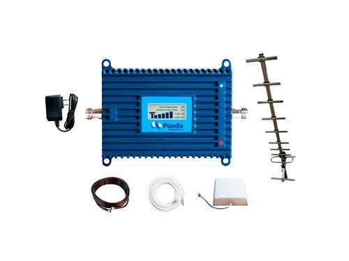 Kit Antena Amplificador De Señal Celular Telcel 3g