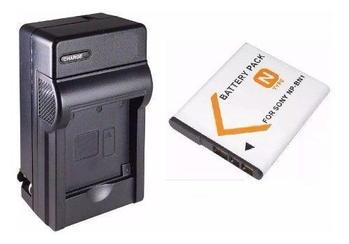 Kit Cargador Y Batería Np-bn1 Para Camara Digital Sony