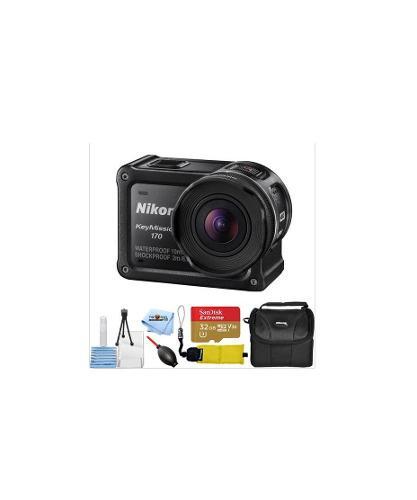 Kit Cámara De Acción Nikon Keymission 170 Alta Definición