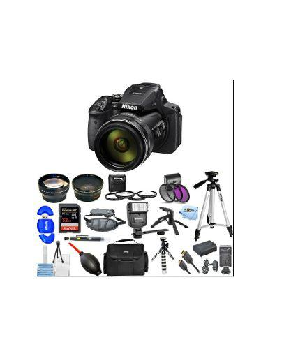 Kit Cámara Digital Nikon Coolpix P900 16mp Batería