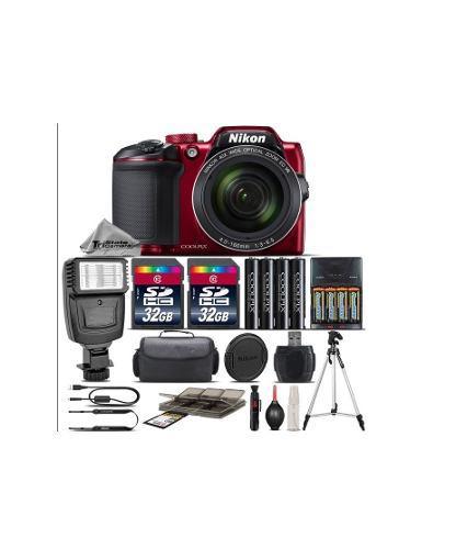 Kit Completo Cámara Digital Nikon Coolpix B500 Zoom 40x