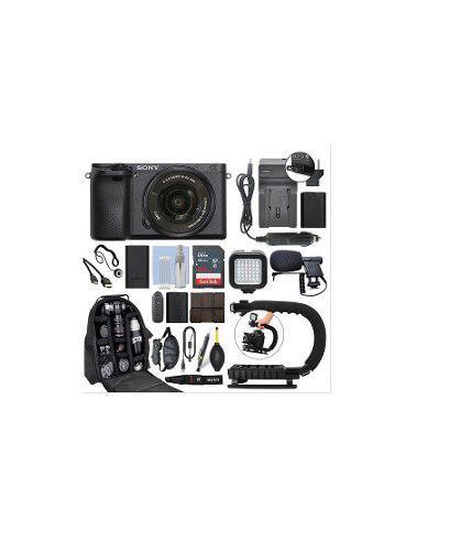 Kit De Video Sony Alpha A6500 Cámara Digital Lente 16-50 Mm