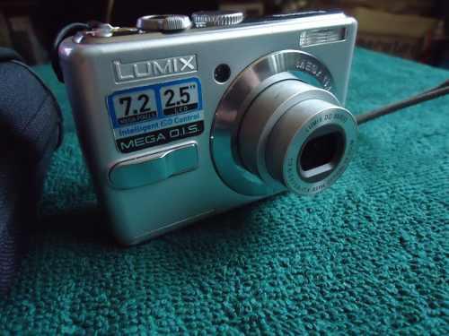 Lumix Panasonic Camara Digital 7.2 Mp