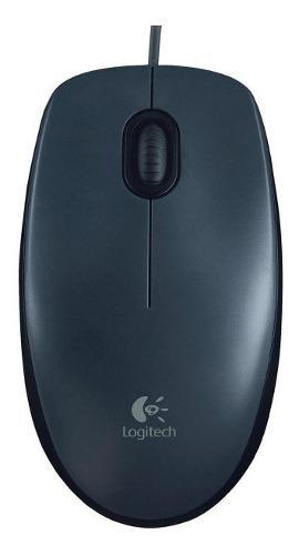 Mouse Optico Logitech M90 Usb 910-004053 Negro