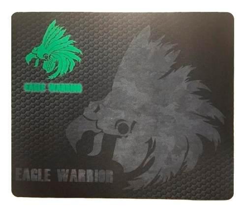 Mousepad Gamer Eagle Warrior Comodo De Alta Presición
