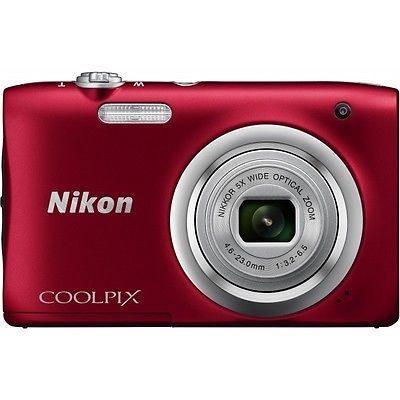 Nikon Coolpix A100 Cámara Digital - Rojo