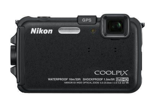 Nikon Coolpix Aw100 16 Mp Cmos Cámara Digital Prueba De Imp