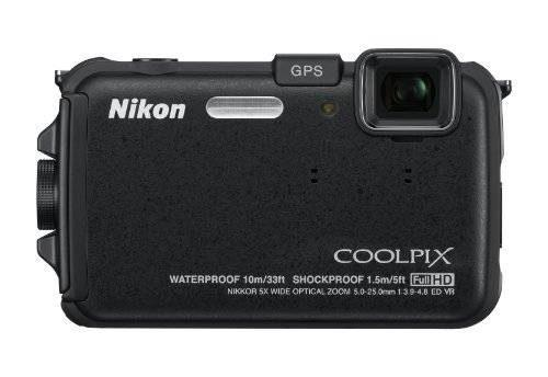 Nikon Coolpix Aw100 16 Mp Cmos De La Cámara Digital
