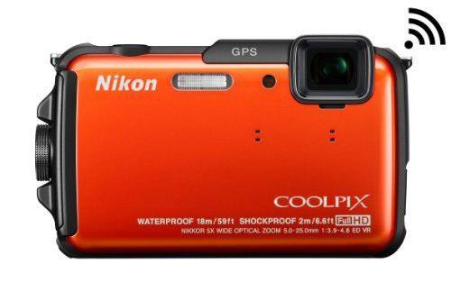 Nikon Coolpix Aw110 Wi Fi Y Impermeable Cámara Digital Con