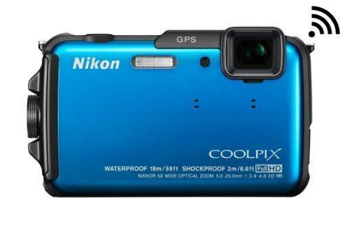 Nikon Coolpix Aw110 Wi-fi Y Cámara Digital A Prueba De Agua