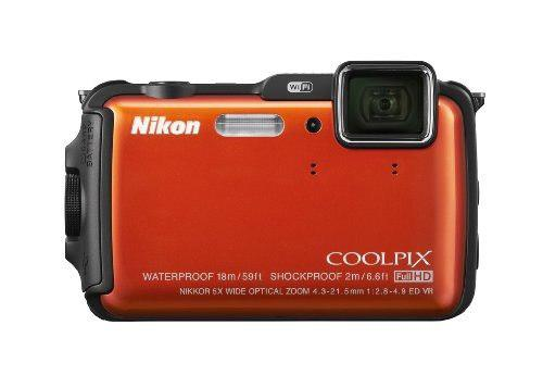 Nikon Coolpix Aw120 16 Mp Wi-fi Y Cámara Digital Impermeabl