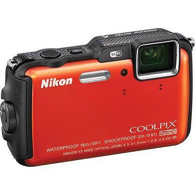 Nikon Coolpix Aw120 Cámara Digital Resistente Al Agua -