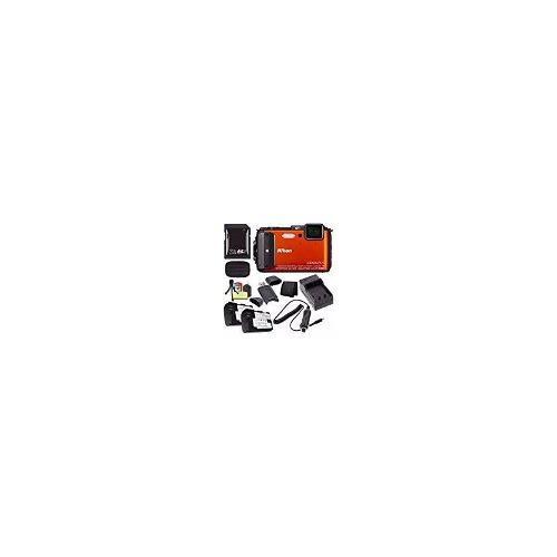 Nikon Coolpix Aw130 Cámara Digital Impermeable (naranja) -
