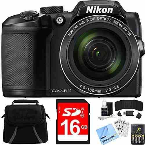 Nikon Coolpix B500 40x Óptico Zoom Digital Cámara 16gb Lia