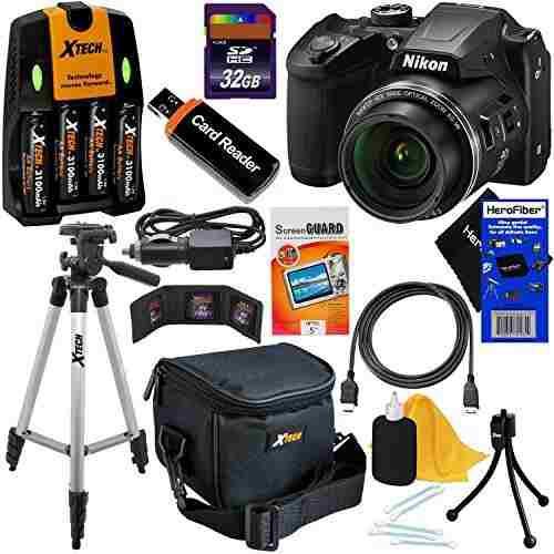 Nikon Coolpix B500 Wi-fi, Nfc, Cámara Digital Dy80mhg Zoom=