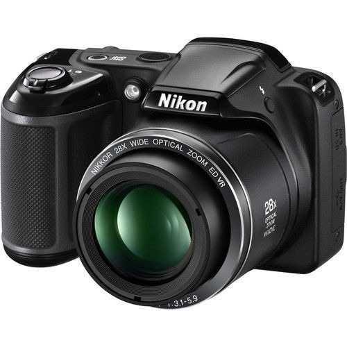 Nikon Coolpix L340 Cámara Digital - Negro