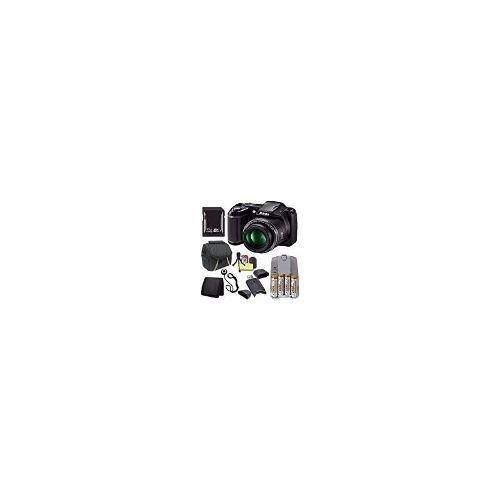 Nikon Coolpix L340 Cámara Digital (negro) (modelo