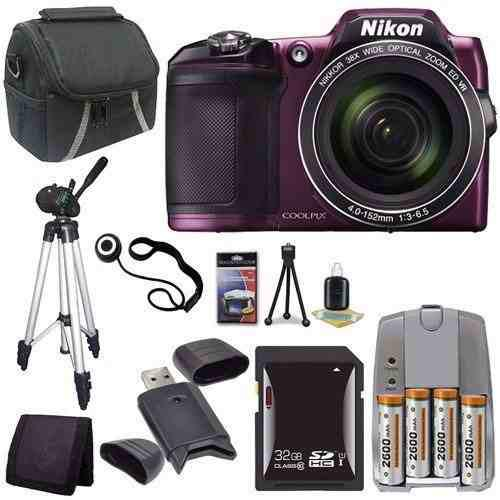 Nikon Coolpix L840 Cámara Digital (púrpura) - Versión