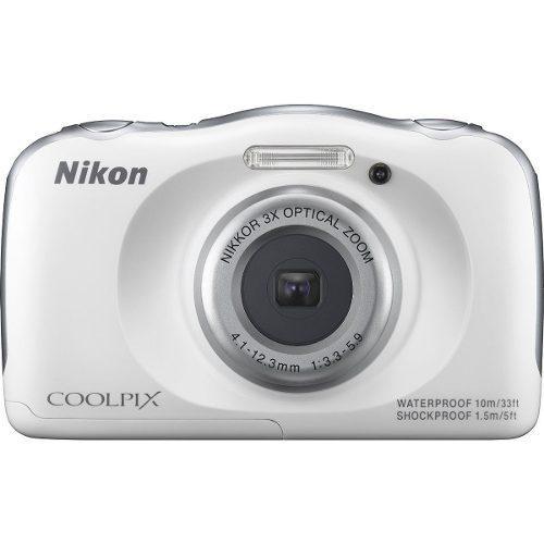 Nikon Coolpix S33 13.2mp Cámara Digital Prueba De Impermeab