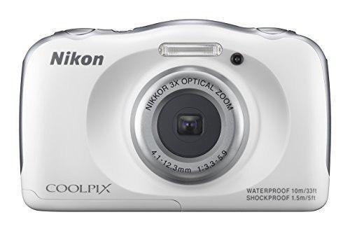 Nikon Coolpix S33 Cámara Digital Resistente Al Agua (blanco