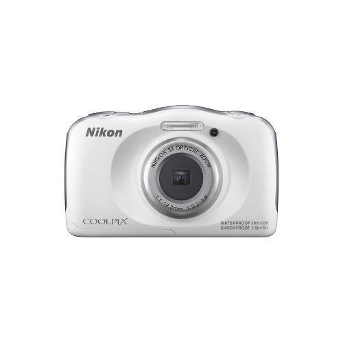 Nikon - Coolpix S33 De 13.2 Megapíxeles Cámara Digital -
