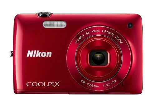 Nikon Coolpix S4200 16.0 Mp Cámara Digital (Rojo)