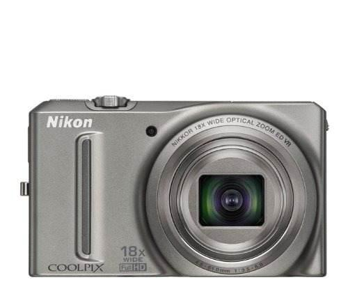 Nikon Coolpix S9100 12,1 Mp Cmos Digital Cámara Con 18x Nik