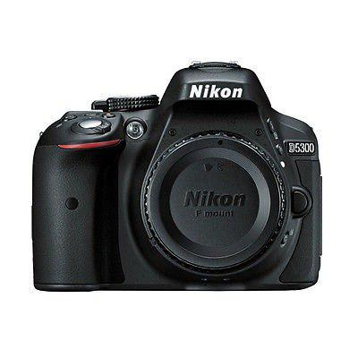 Nikon D5300 24.2 Mp Cmos Digital Slr Cámara W / Built-in