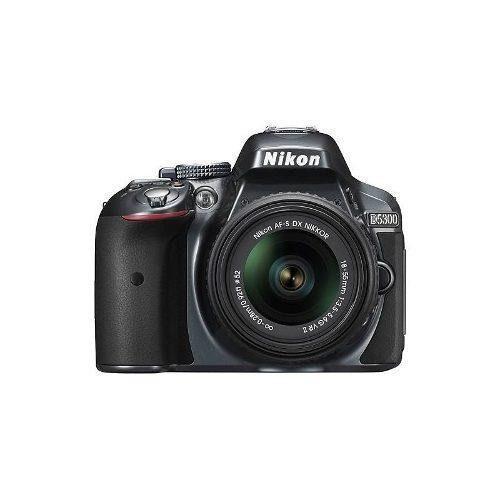 Nikon - D5300 Cámara Réflex Digital Con Lente De 18-55mm
