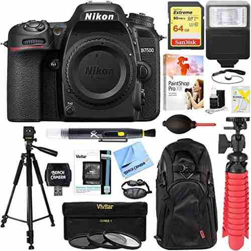 Nikon D7500 20.9mp Formato Dx Cámara Digital Slr (cuerpo