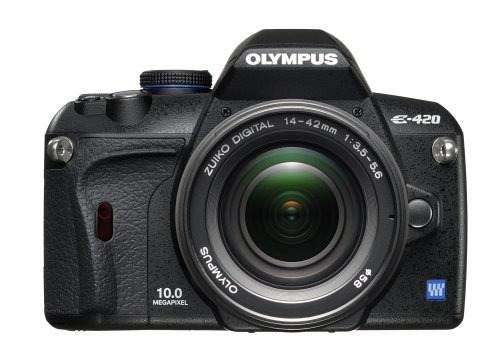 Olympus Evolt E420 10mp Cámara Slr Digital Con Lente Zuiko