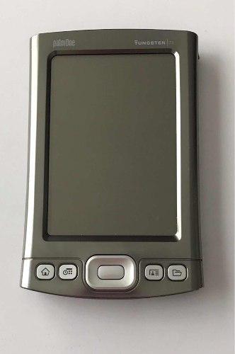 Palm One Tungsten T5 Buen Estado, Color Plata Con Cable Usb
