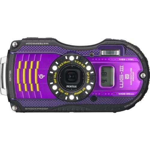 Pentax Optio Wg-3 Gps 16mp Cámara Digital A Prueba De Agua