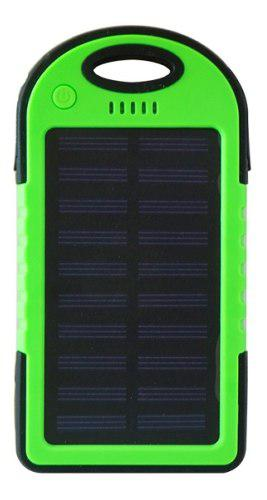 Power Bank Solar 10000 Mah Verde