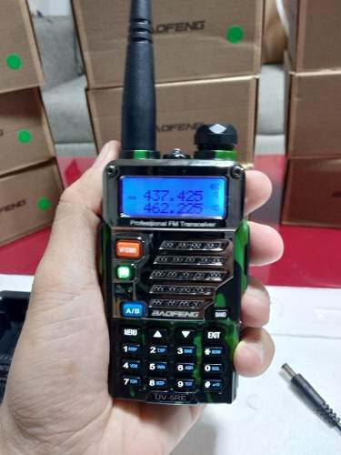 Radio Portátil Profesional Baofeng Uv-5r Militar Vhf/uhf