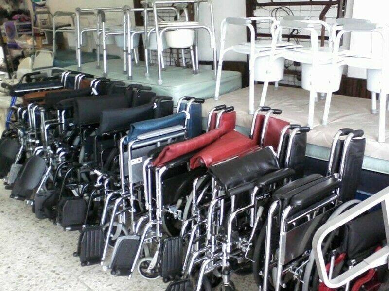 Refracciones para silla de ruedas