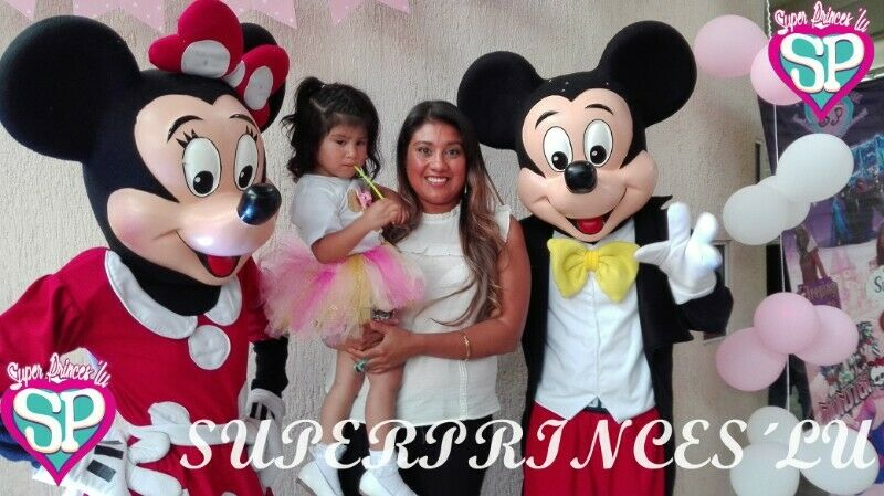 SHOW DE MICKEY MAOUSE AND MINNIE PUEBLA