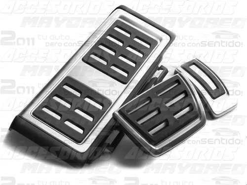 Set Pedales Posapie Vw Gti Mk7 Golf Gol Polo Ibiza Seat Audi