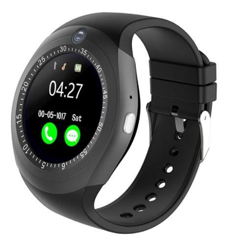 Smart Watch Reloj Celular Y1 Plus Bluetooth Cámara Sim Sd