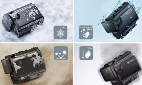 Sony Hdr-as50/b Videocamara Digital Accion Wifi Hd Bluetooth
