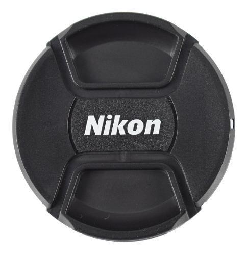 Tapa De 77mm Para Lente Nikon Incluye Correa - Envío Gratis