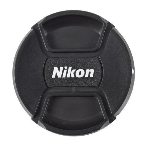 Tapa Para Lente Nikon Envío Gratis 52 55 58 62 72 77 82mm