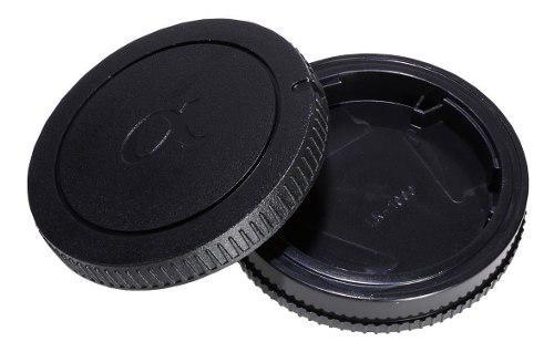 Tapas De Repuesto Para Cuerpo Y Lente Sony Alpha Envío
