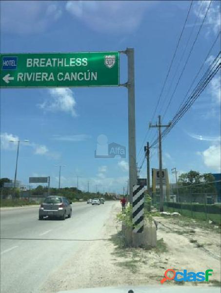 Terreno Comercial en Venta y/o Renta en Cancun, Puerto